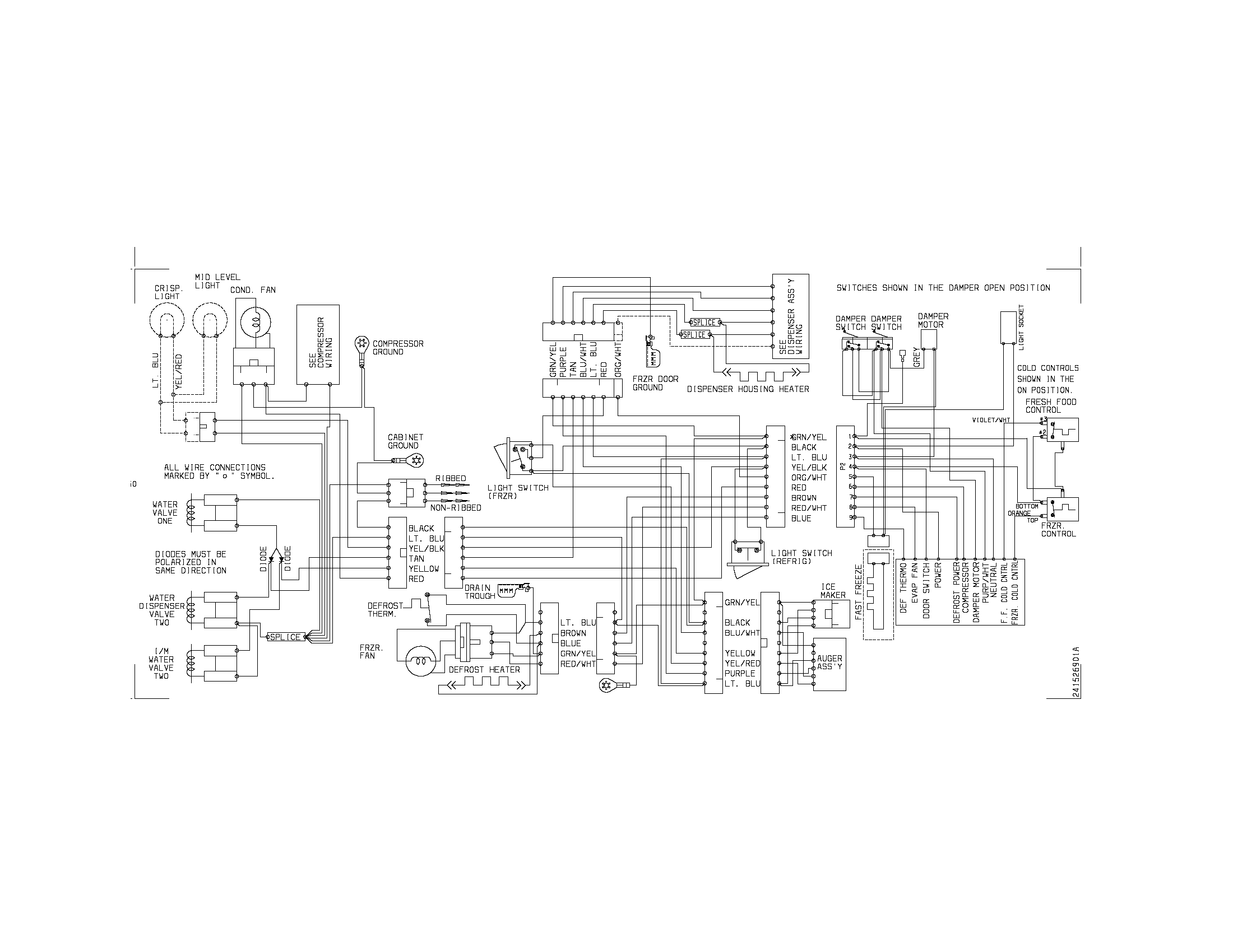 Commercial Cooler Control Panel Wiring Diagram