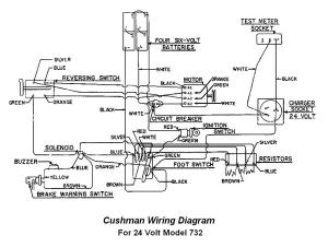 1976 Cushman Titan 36 Volt Battery Wiring Diagram