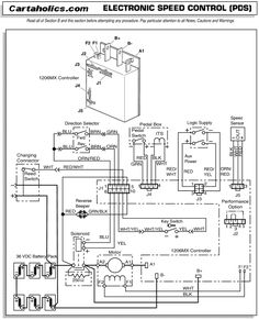 1976 Cushman Titan 36 Volt Battery Wiring Diagram