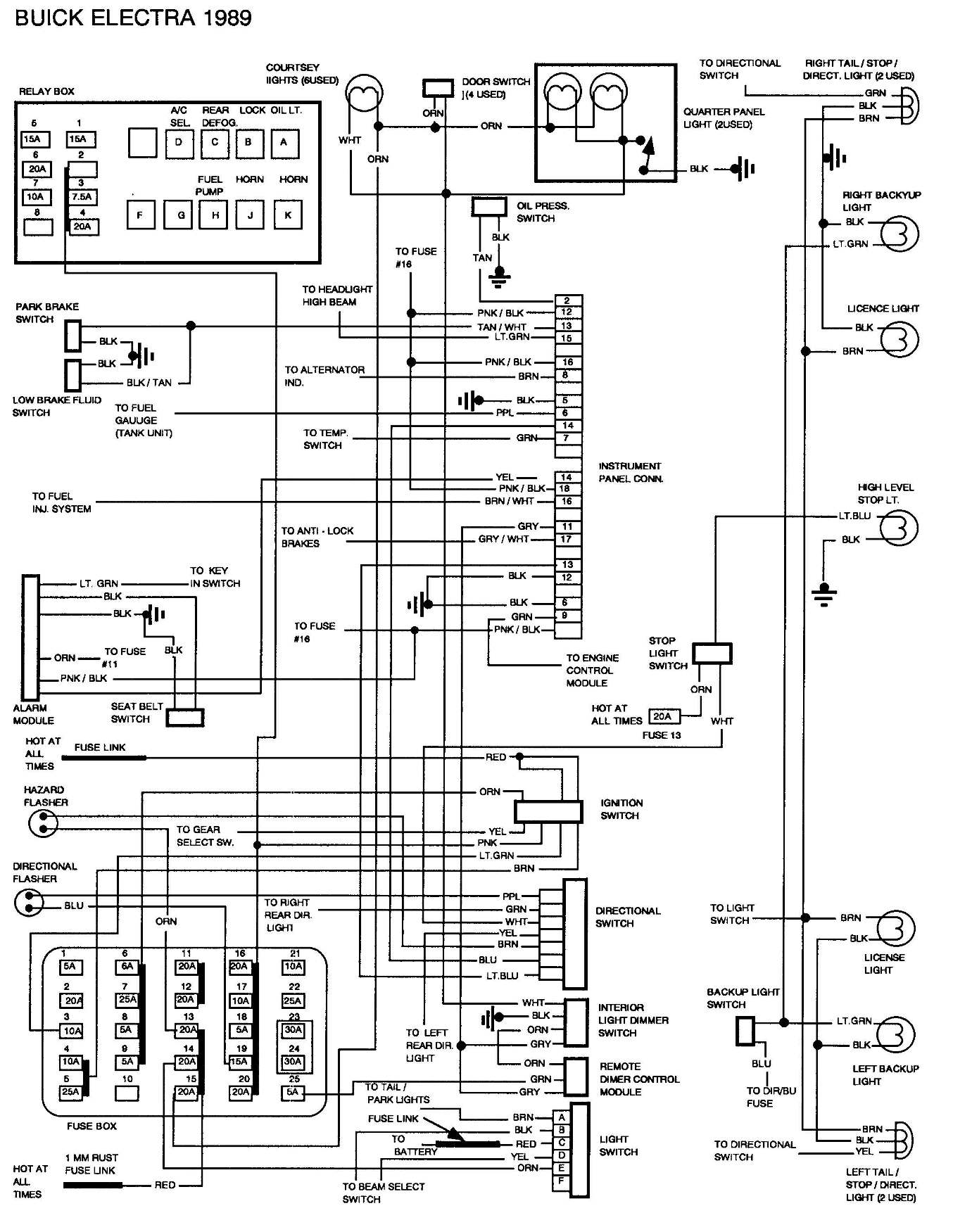 Buick Rendezvous Wiring Diagram For Wheel