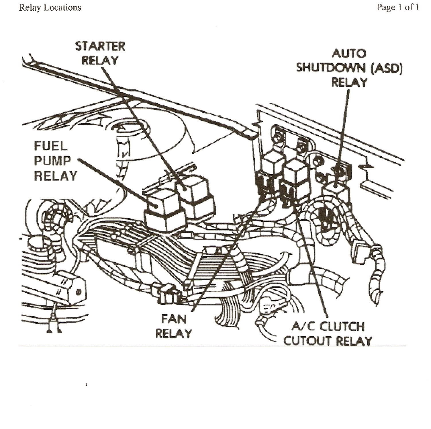 Chrysler Pacifica Asd Wiring Diagram