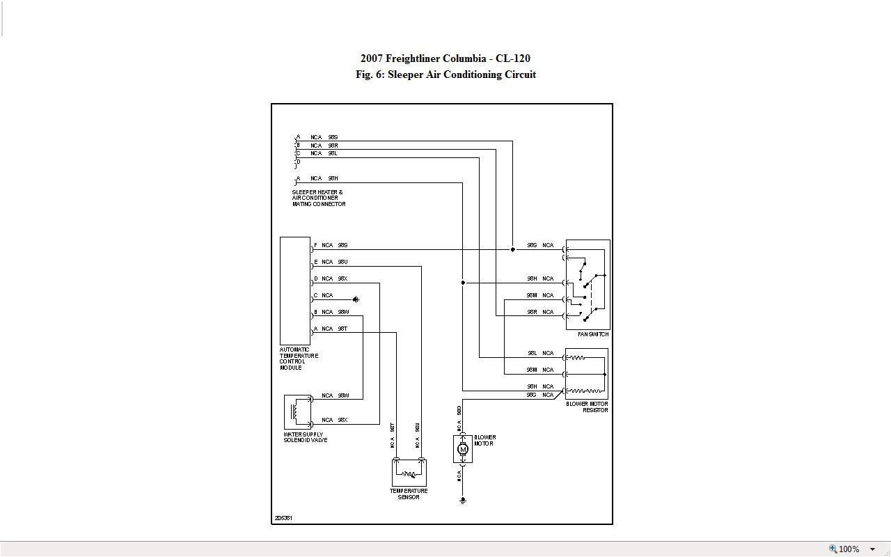 Freightliner Columbia Fuel Gauge Wiring Diagram