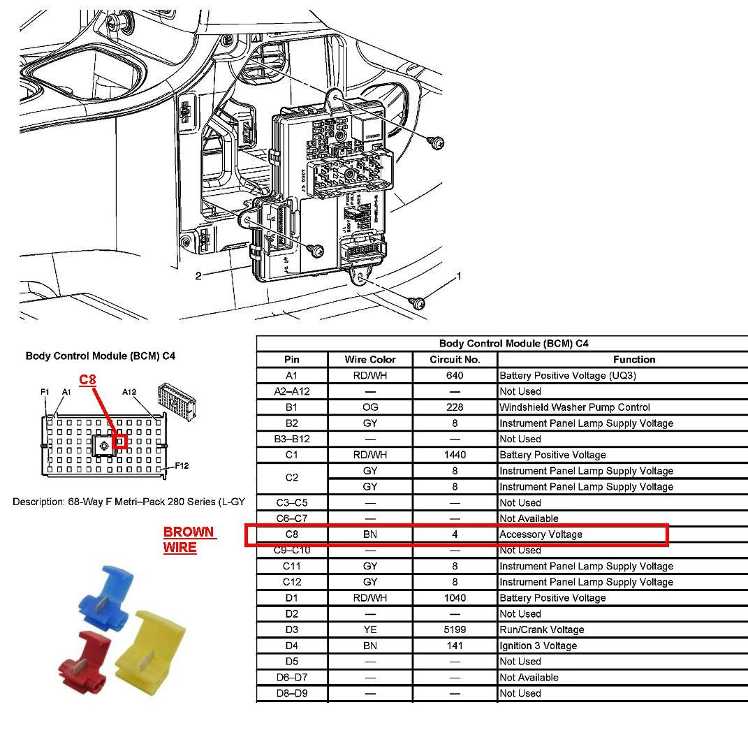 Diagram Chevy Silverado Bcm Fuse Location Full Version