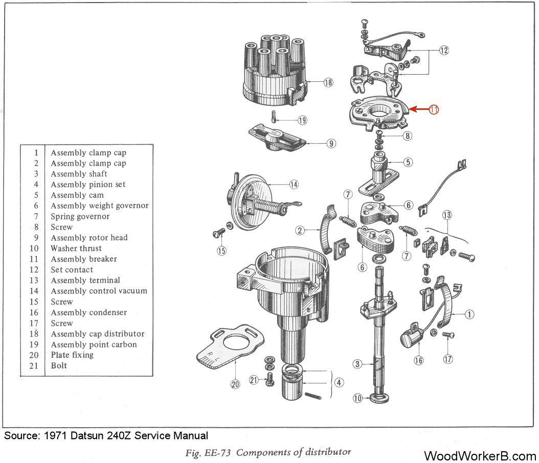 73 240z Pertronix Ignition Wiring Diagram