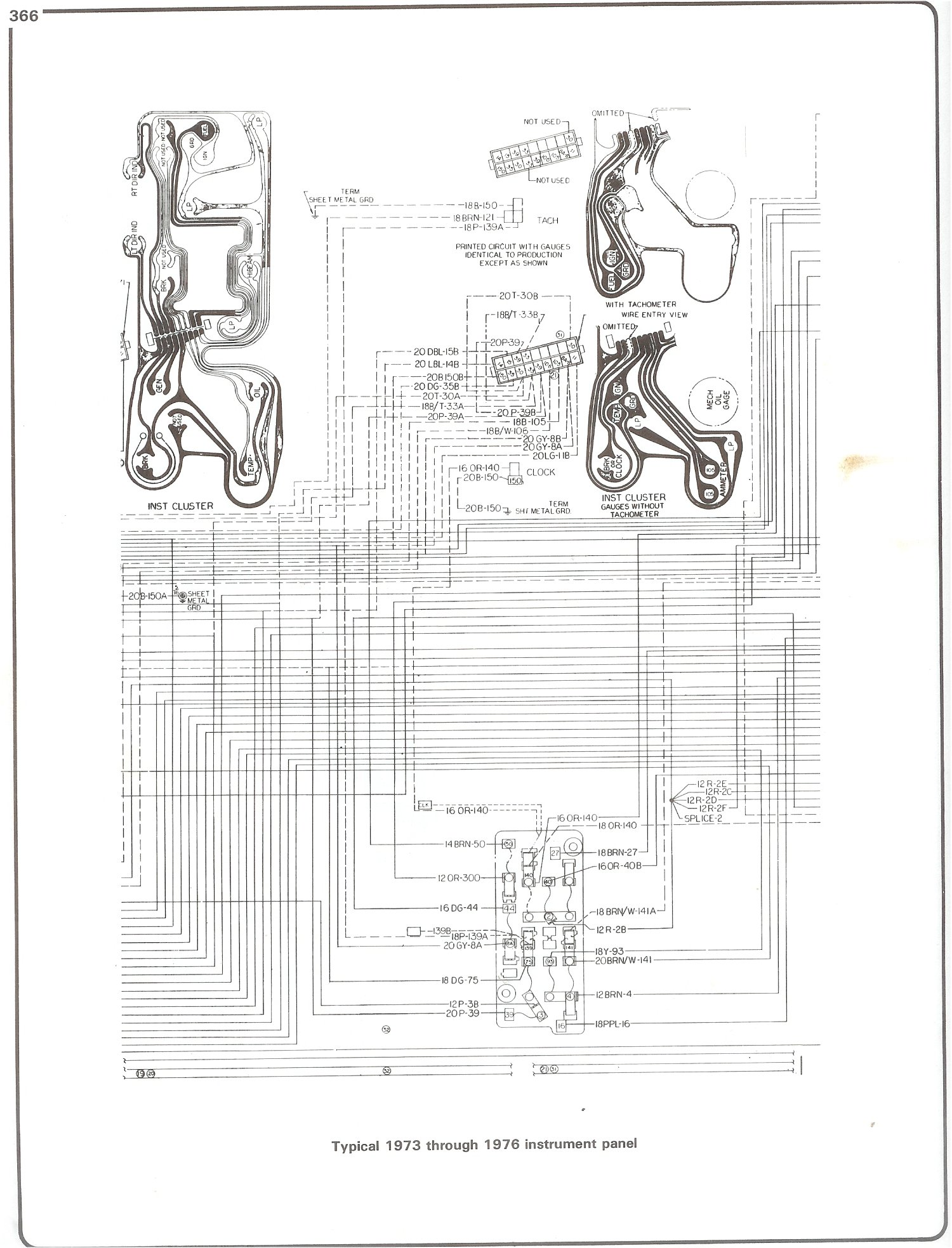 86 Kenworth K100e Dash Wiring Diagram