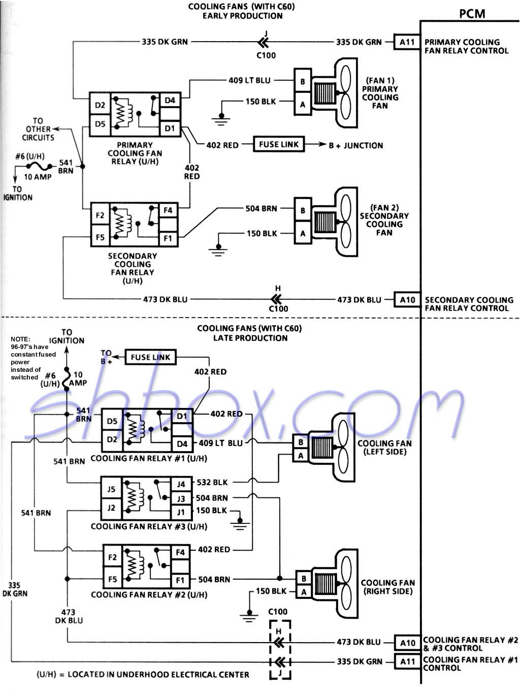 99 Fan Switch Wiring Diagram