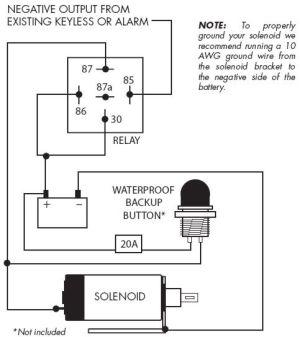 Autoloc Door Popper Wiring Diagram