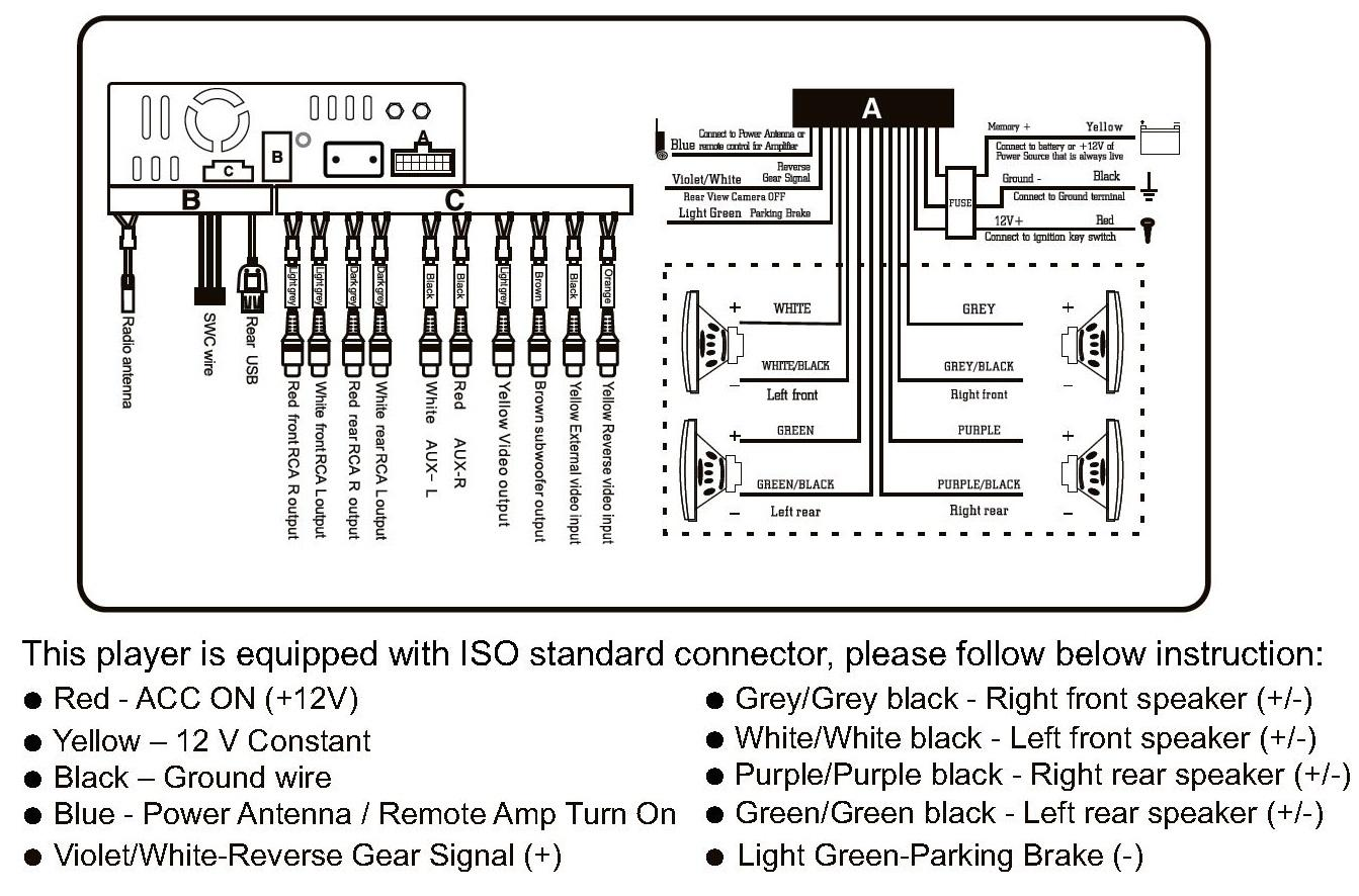 Boss W Amp Wiring Diagram