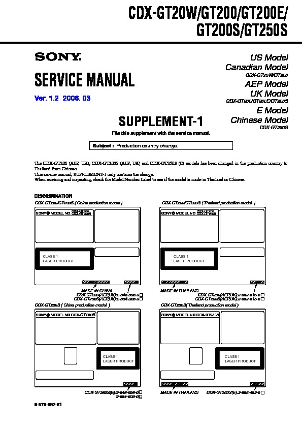 sony cdx gt200 wiring diagram xplod 52wx4  pid controller