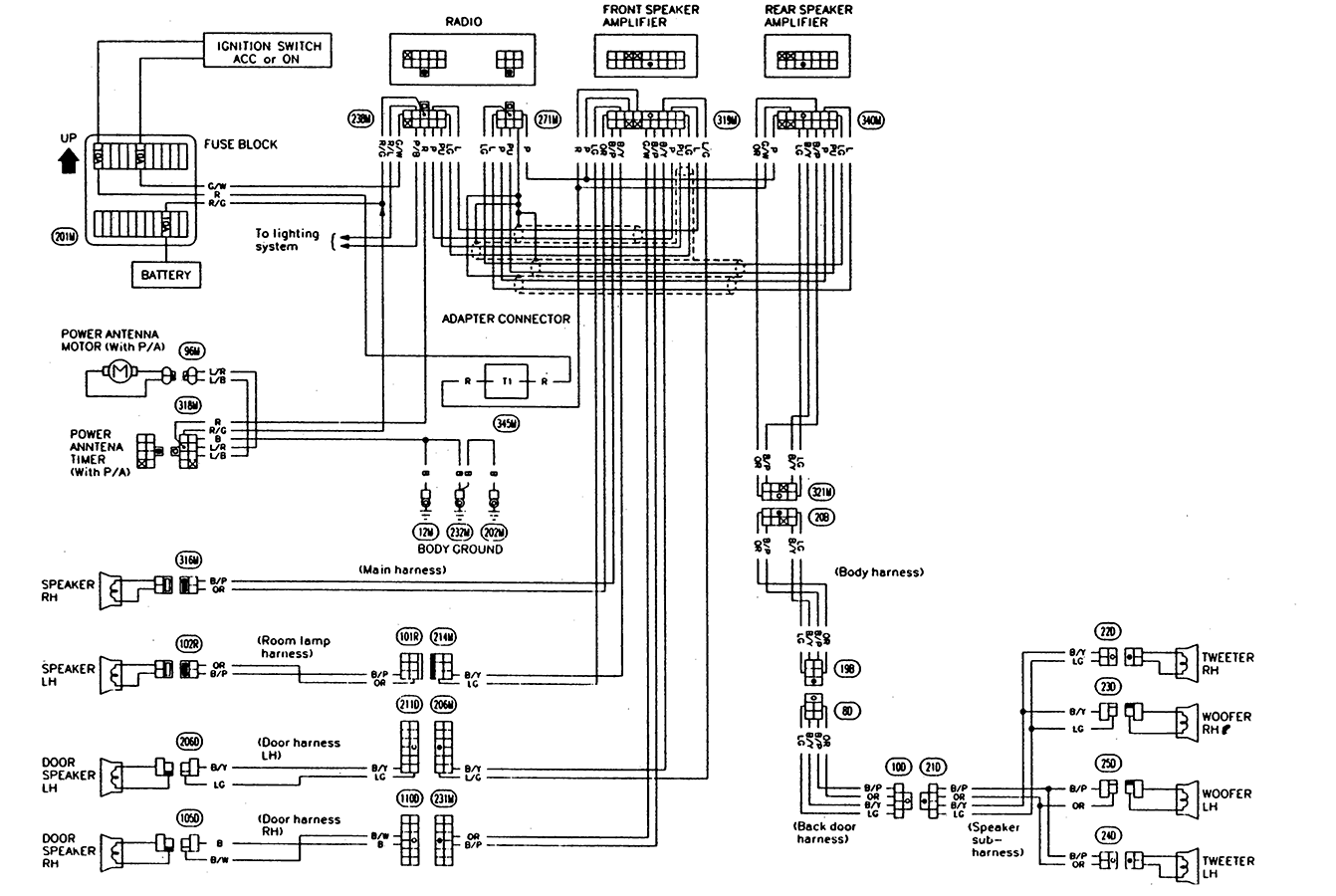 Clarion M508 Wiring Diagram Nissan Frontier