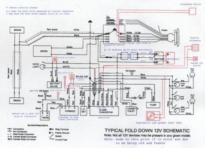 diagram pop up camper converter wiring diagrams full