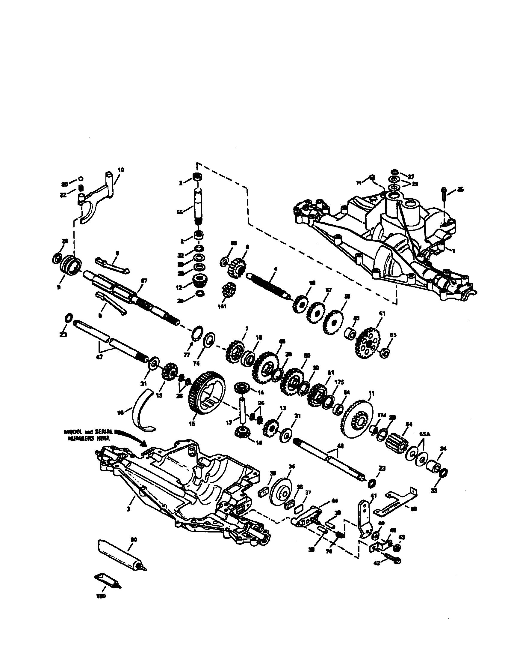 Craftsman Gt 48 Deck Belt Diagram