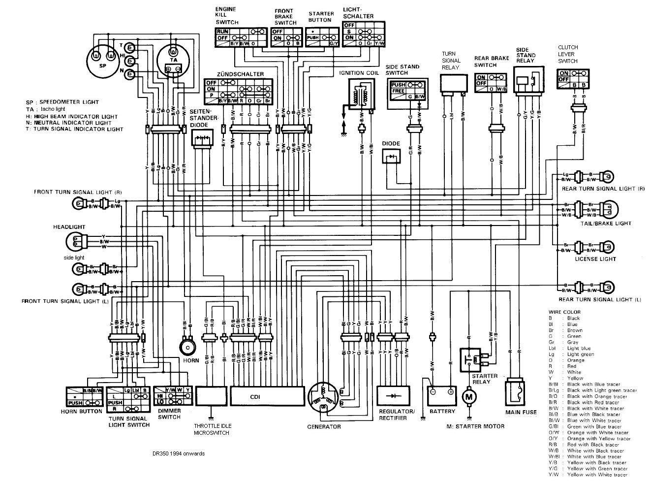 Dr650 Wiring Diagram