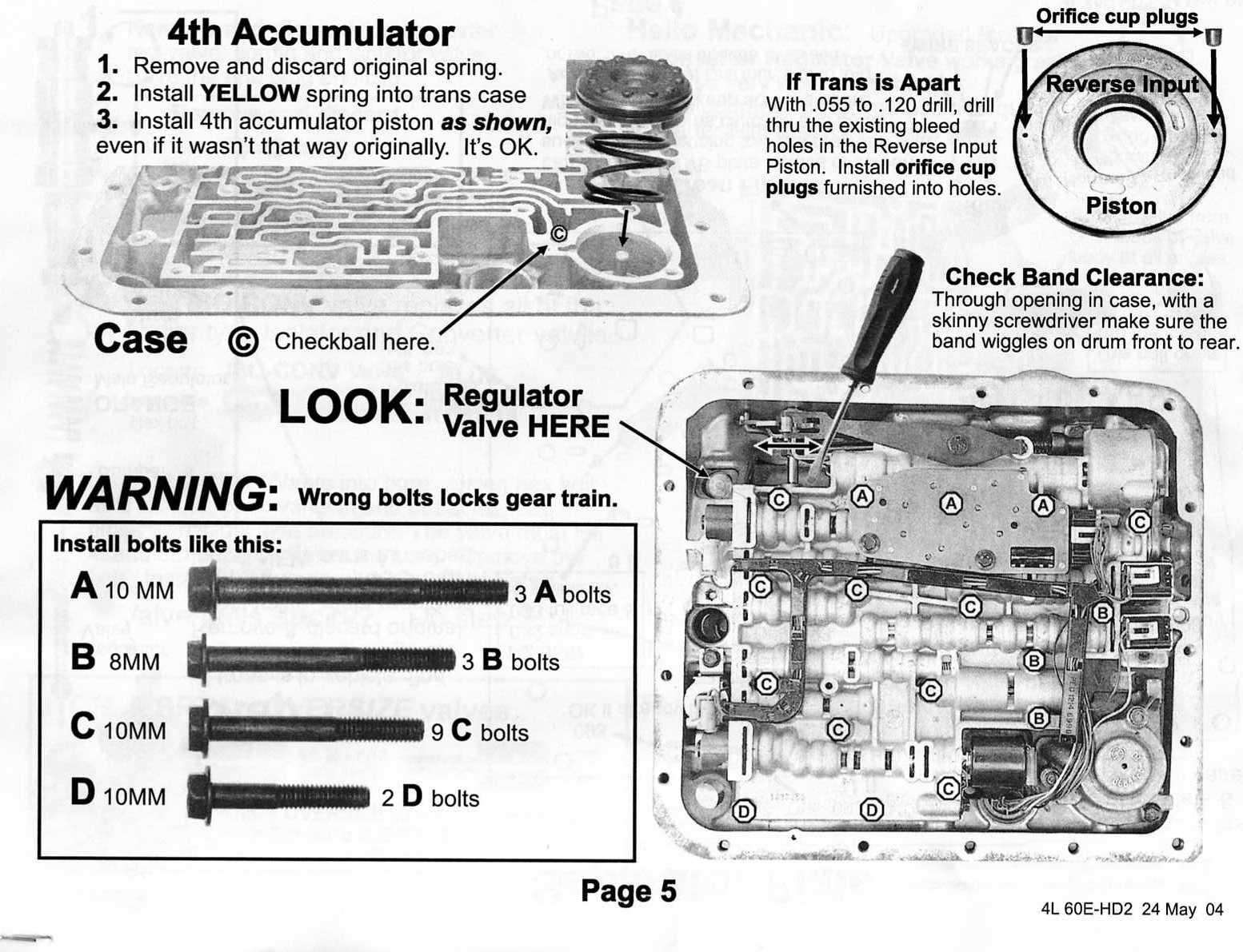 Early 4l60e Wiring Diagram