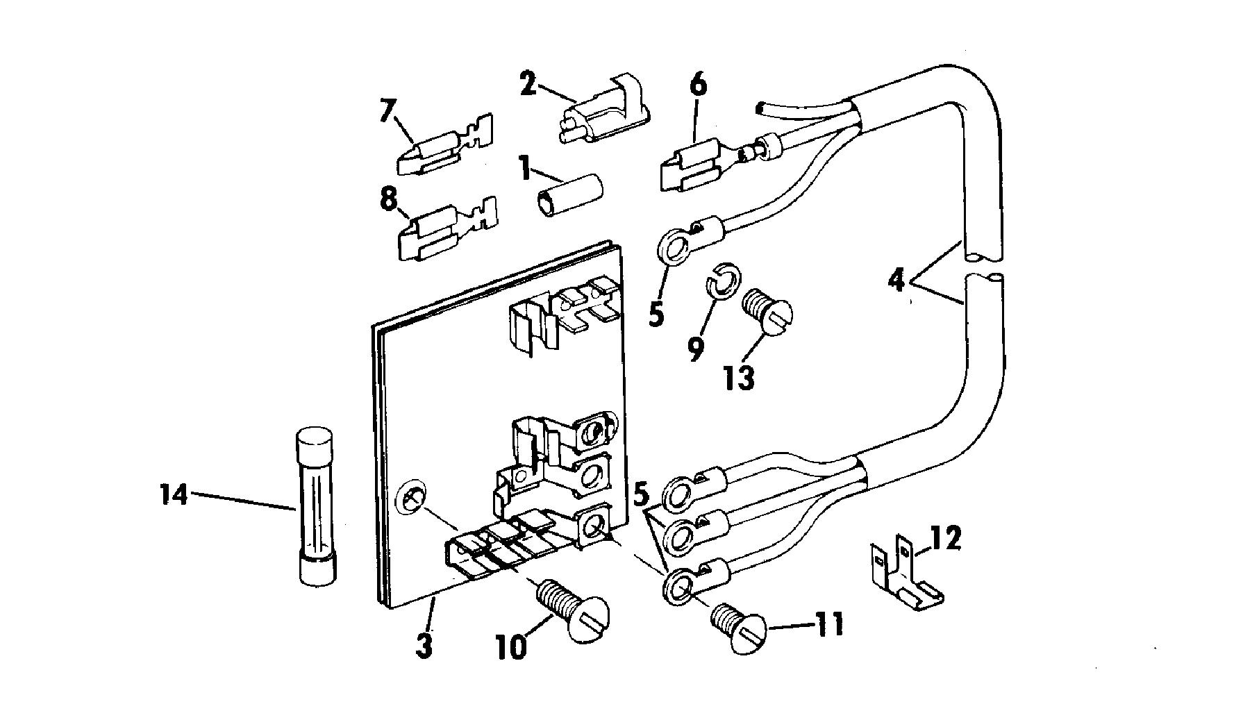 Evinrude Trolling Motor Wiring Diagram