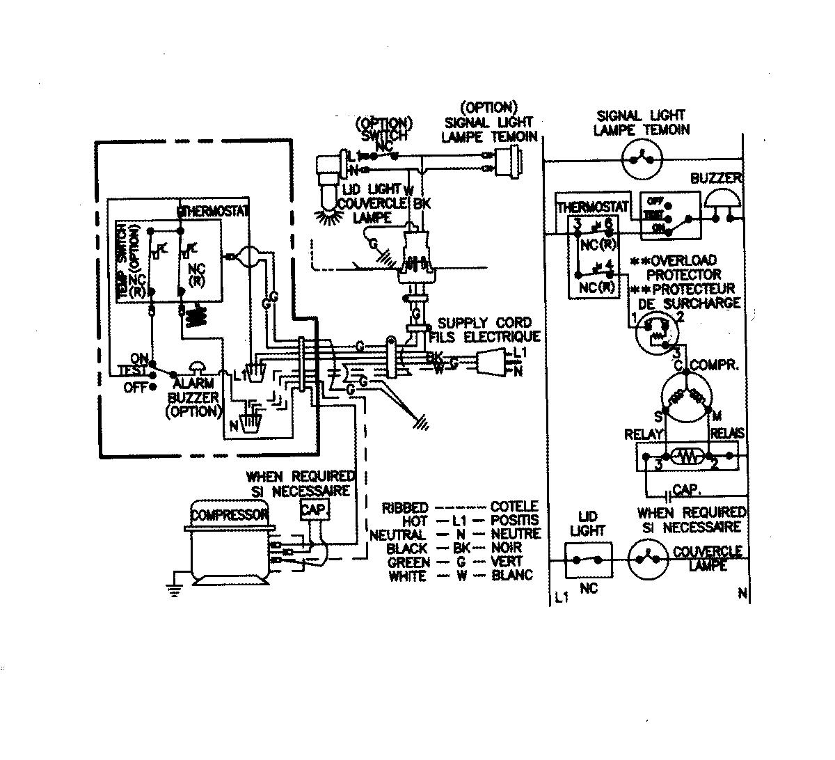 Haier Appliance Wiring Diagram