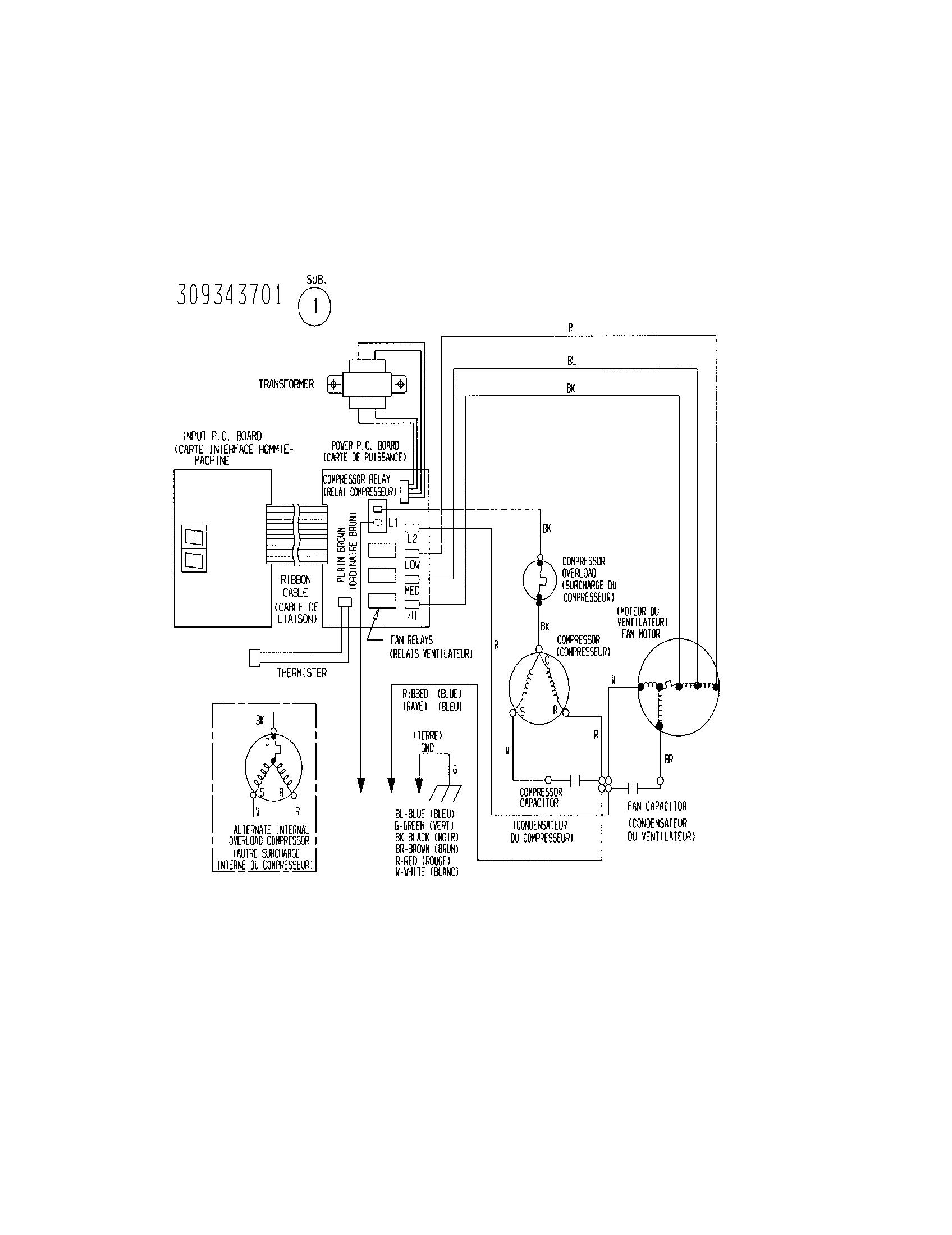 Kenmore Air Conditioner Wiring Diagram