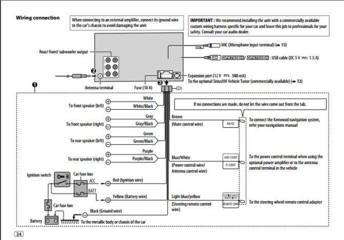 kenwood ddx318 wiring diagram  mazda 3 fuse box glove box