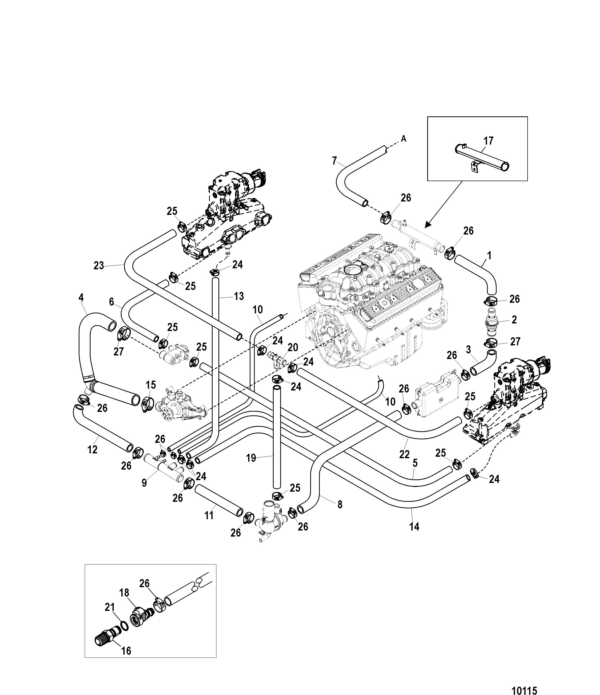 Mercruiser 3 0 Cooling System Diagram