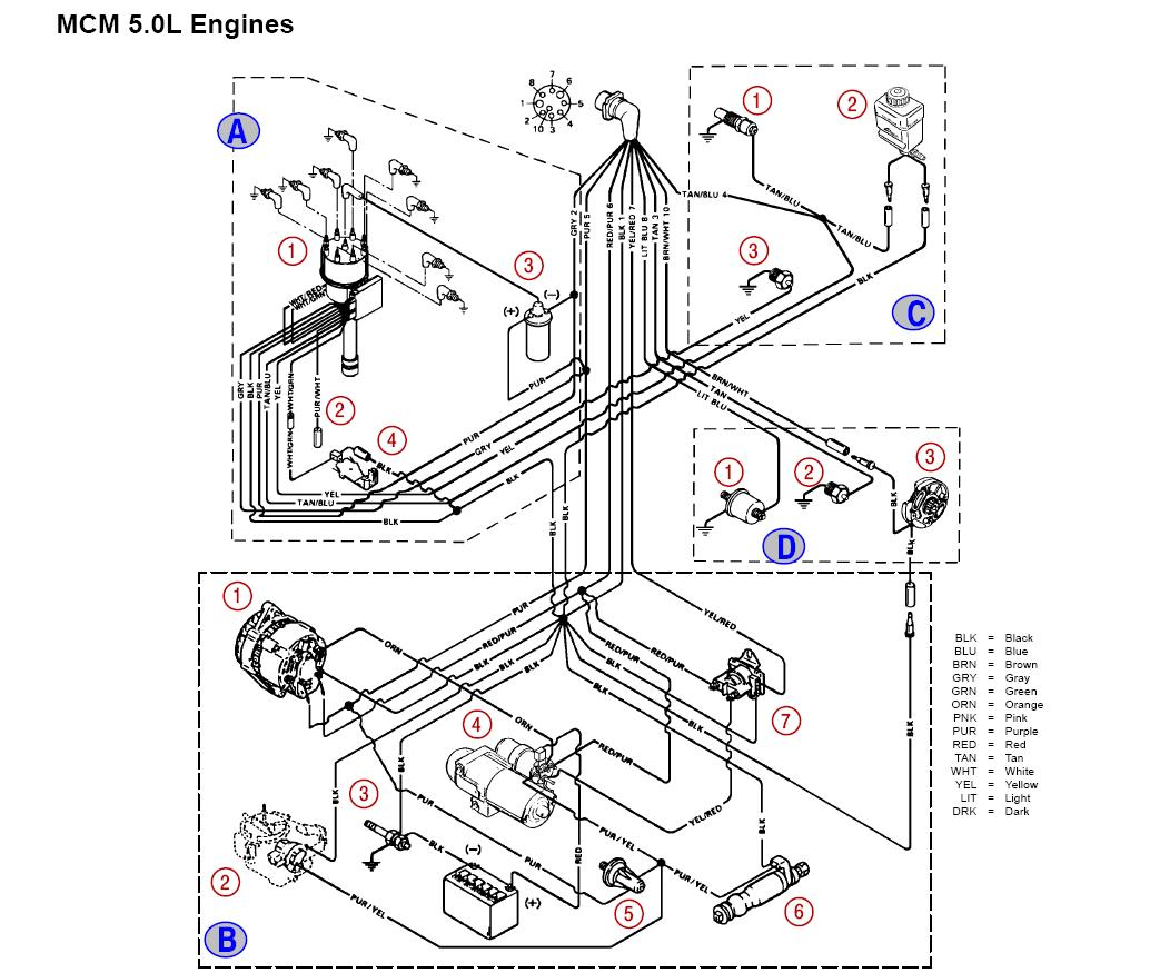 Mercruiser 5 0 Starter Wiring Diagram