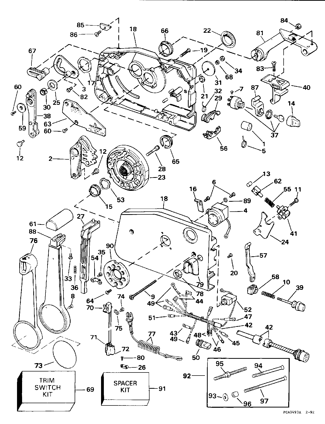 Mercury A15 Side Mount Control Box Wiring Diagram