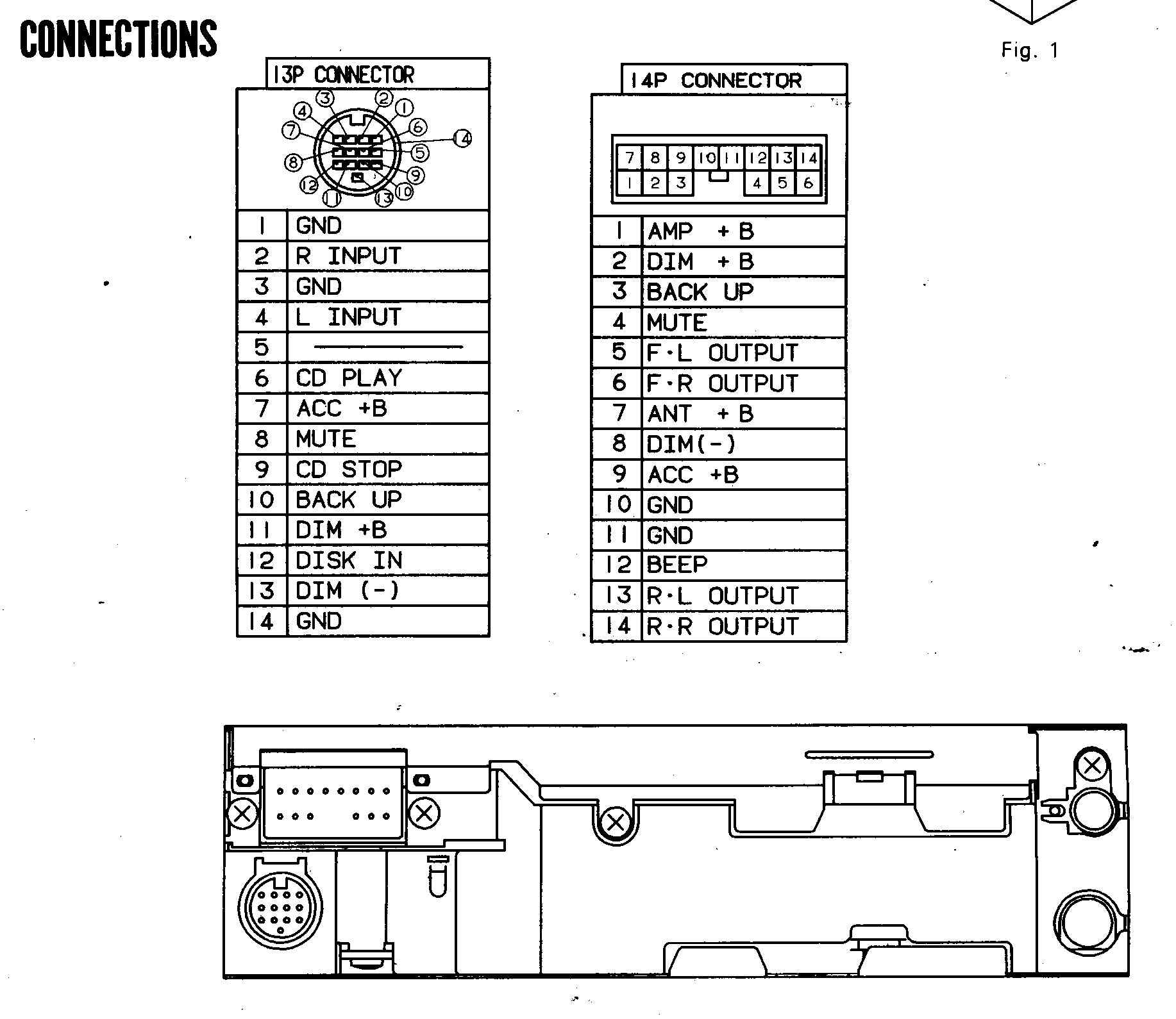 Panasonic Cq Vd U Wiring Diagram