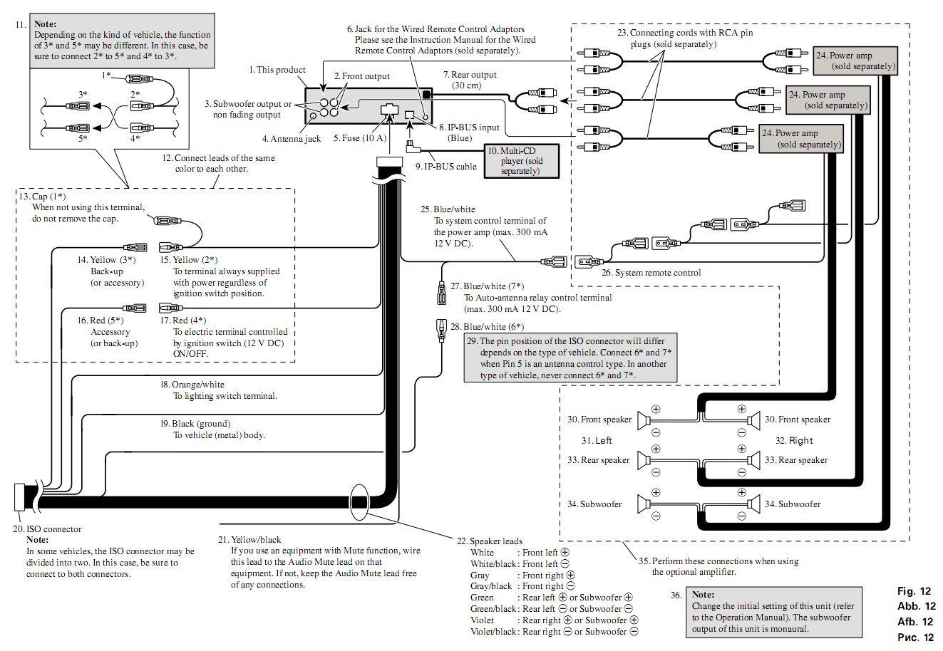 Pioneer Deh 225 Wiring Diagram Manual