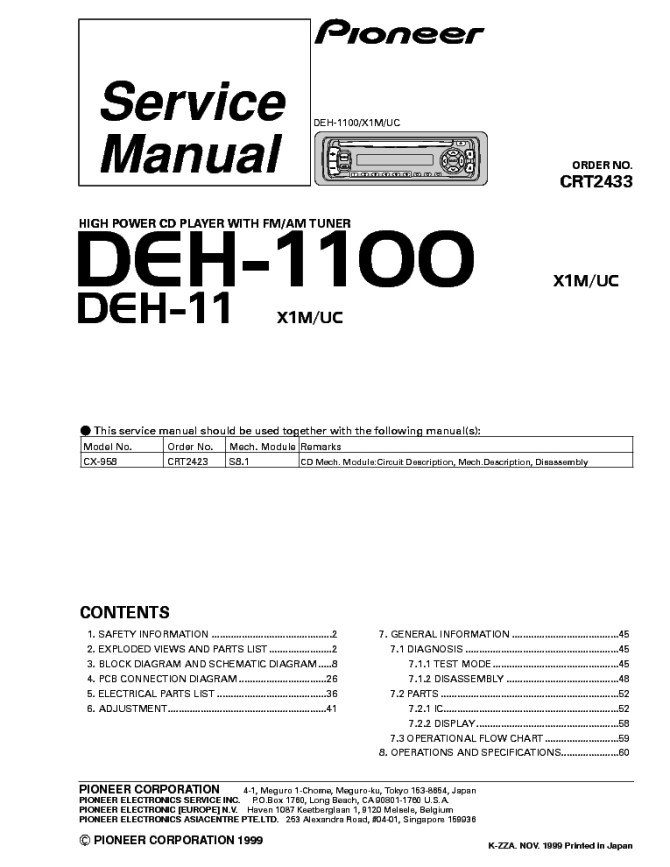 pioneer deh 245 wiring diagram  73 ford f 250 ignition