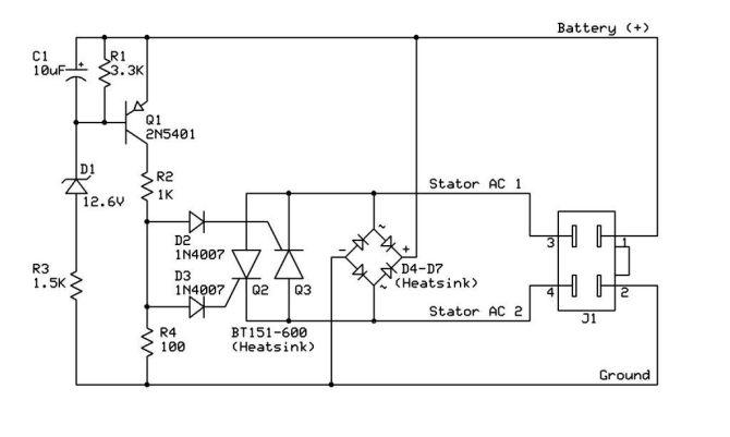 diagram regulator rectifier wiring diagram for polaris full
