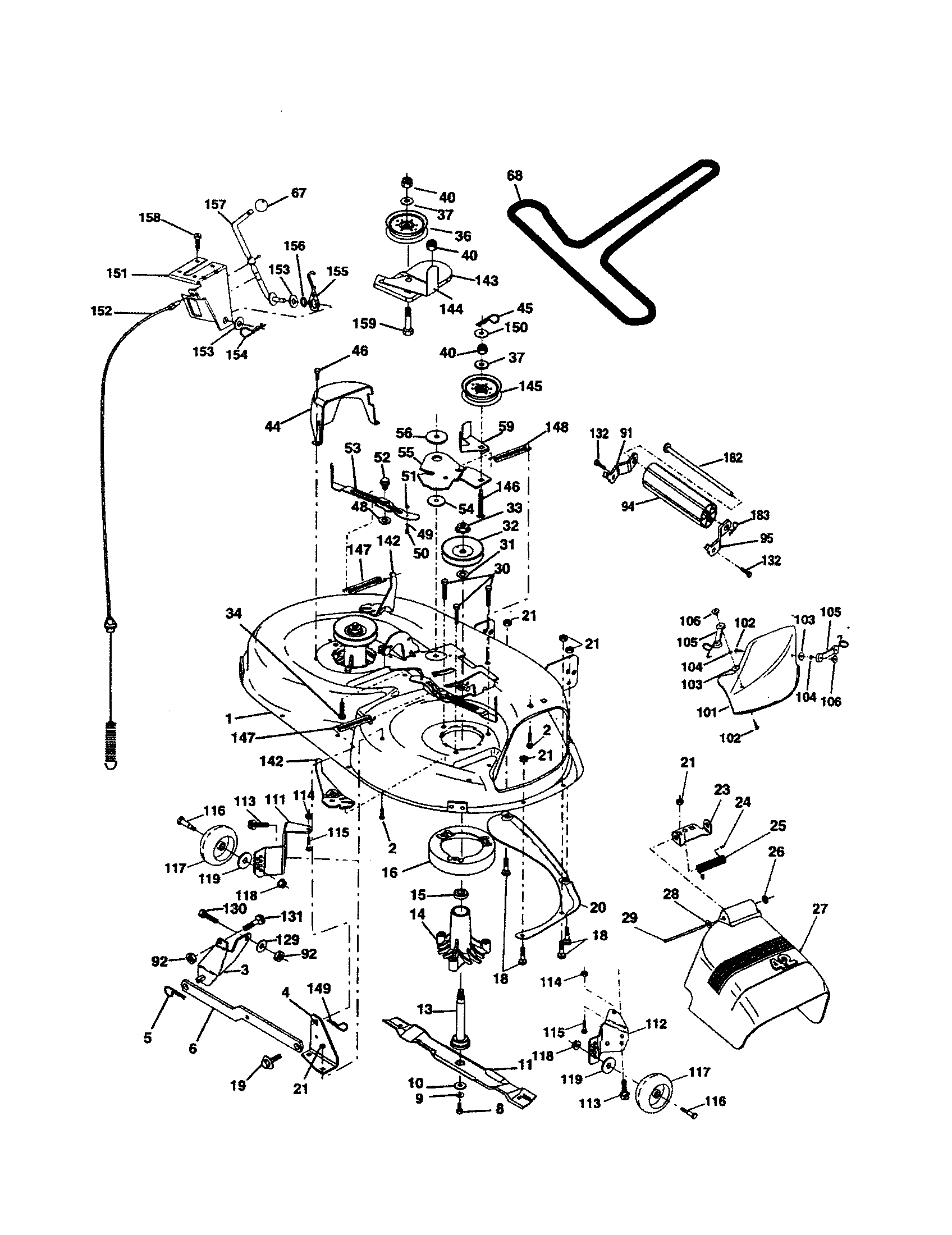 Poulan Pro Riding Mower Wiring Diagram