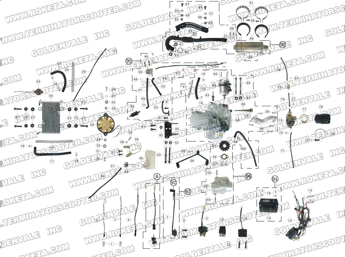 [DIAGRAM in Pictures Database] Chinese 150cc Atv Engine