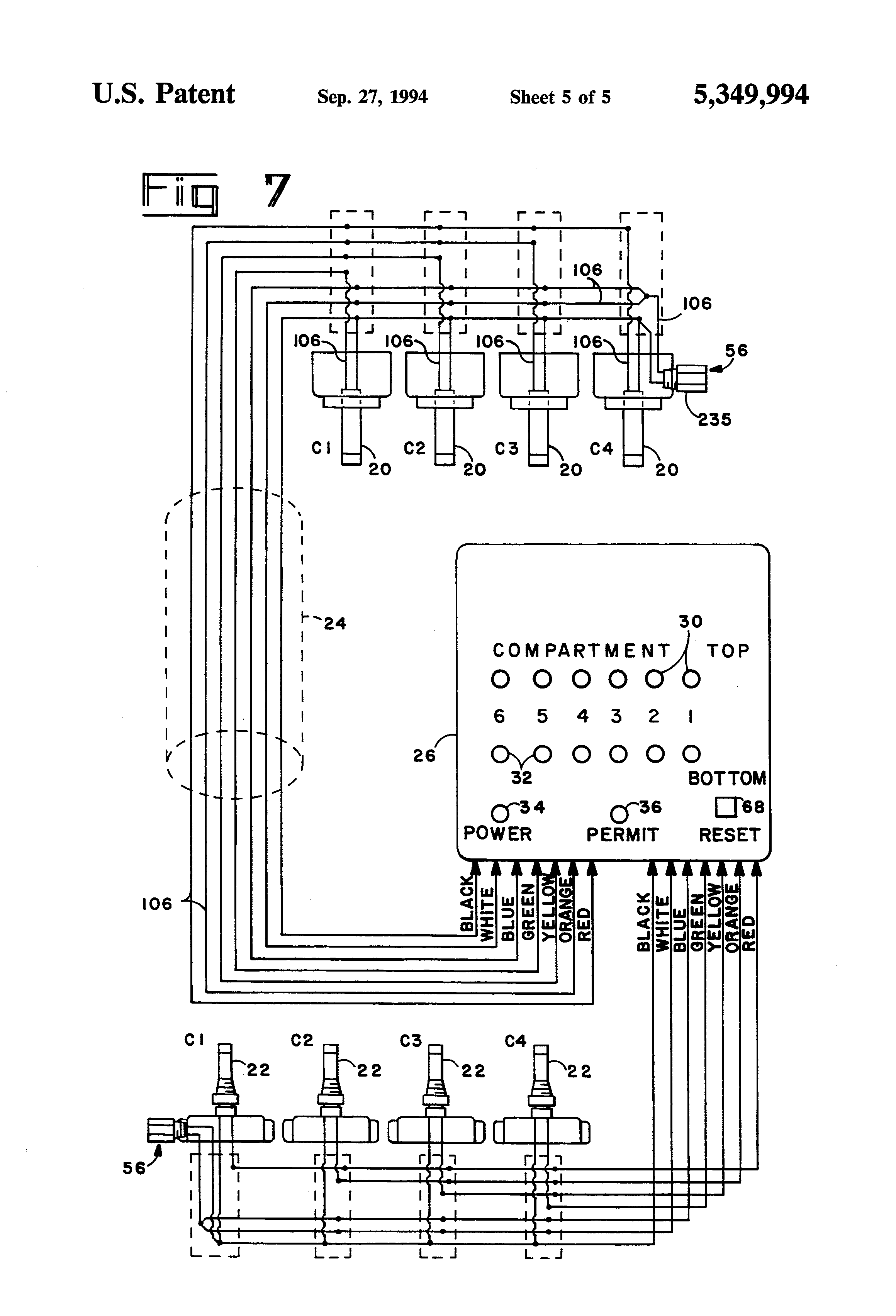 Scully Grounding System Wiring Diagram