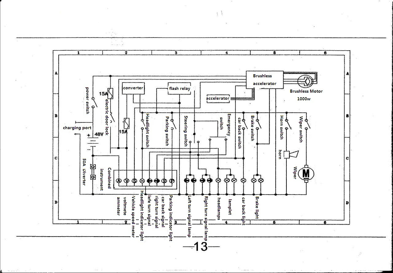 Segway Scooter Wiring Diagram