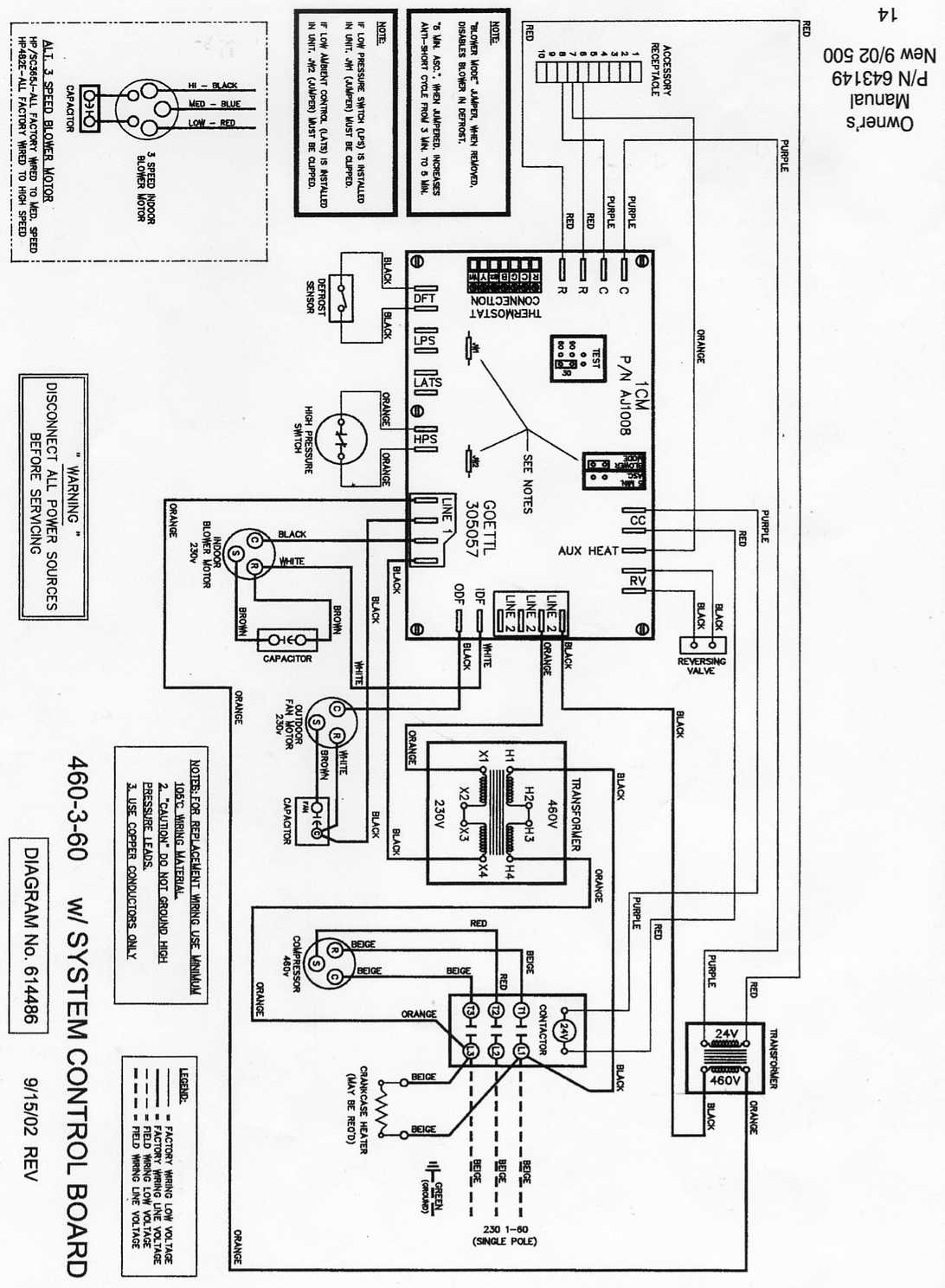 Trane 4ttb G Aa Low Voltage Wiring Diagram