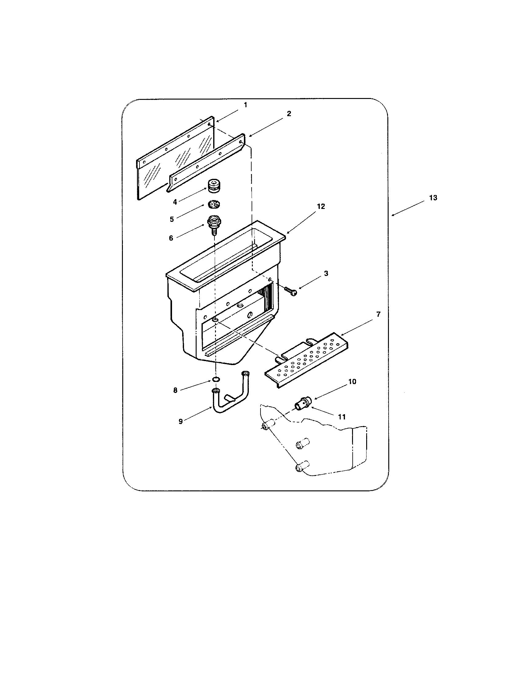 Uline Clr Parts Diagram