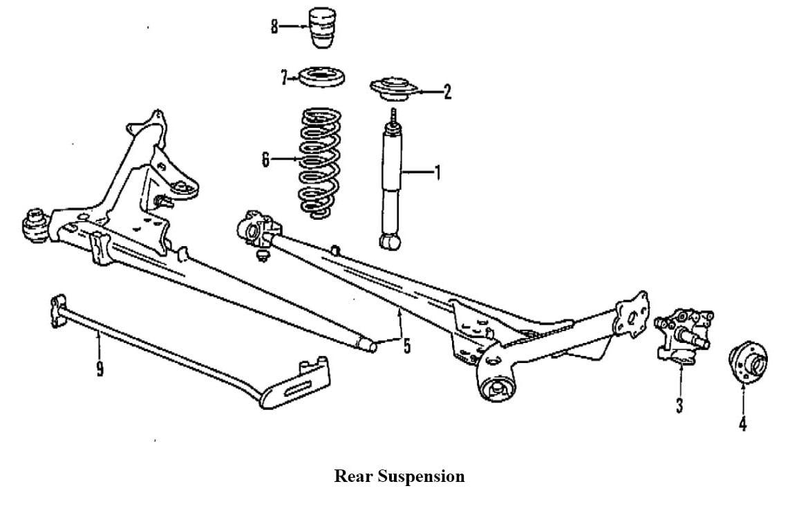 Volvo Parts Schematic Strut