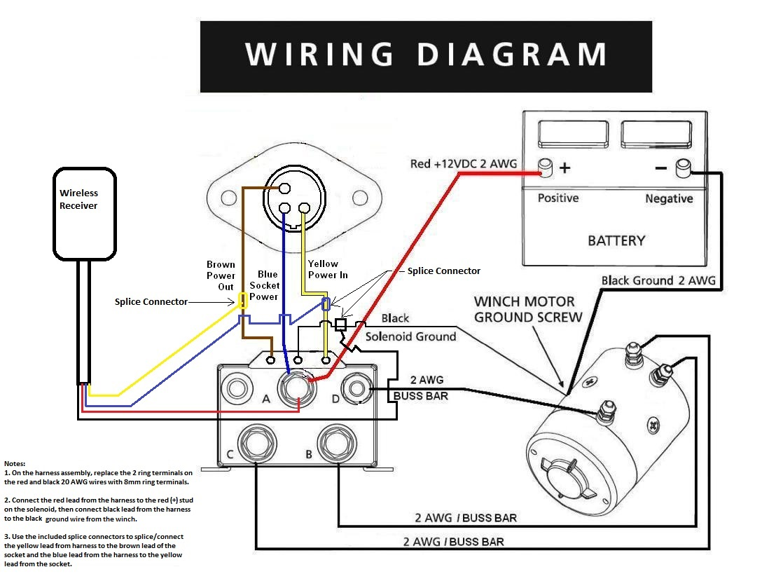 Warn A Winch Wiring Diagram
