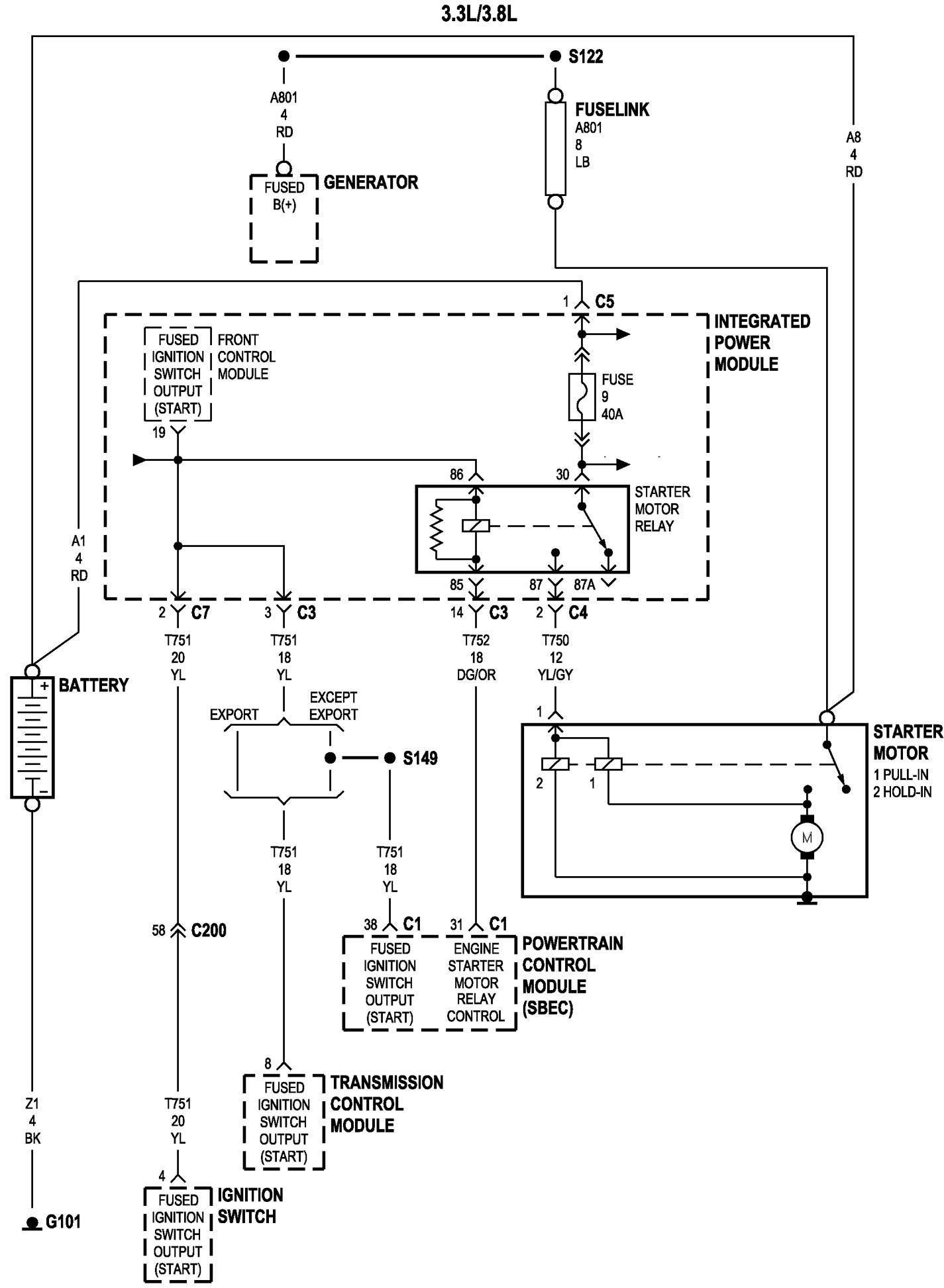 Whats The Wiring Diagram On A Chrysler Voyager Minivan