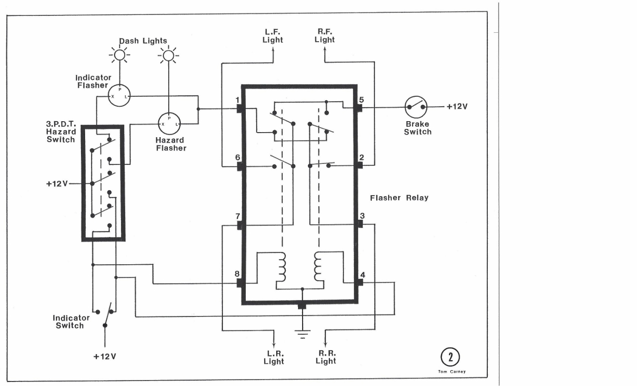 Wiring Diagram For 5 Pin Relay For Drl With Turn Signal Wire