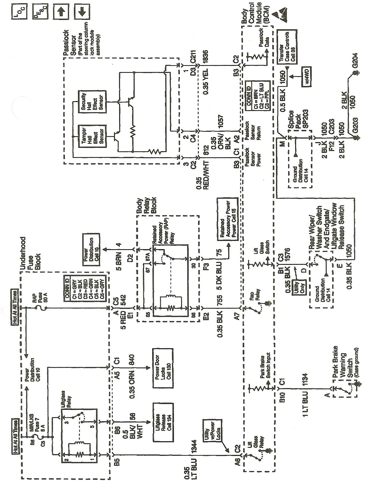 Wiring Diagram For Passlock 2 Chevy Silverado