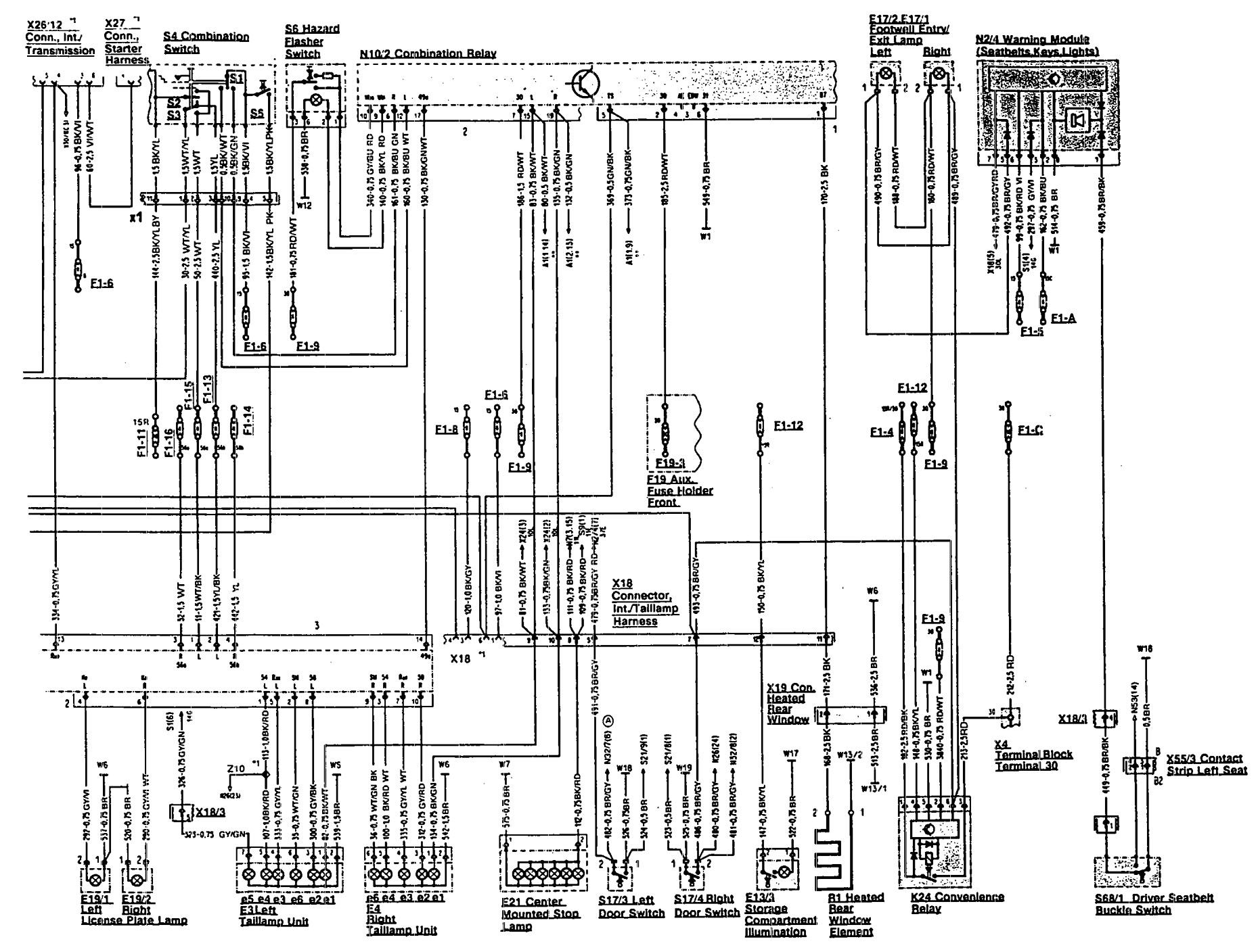 Wiring Diagram For W460 Mercedes