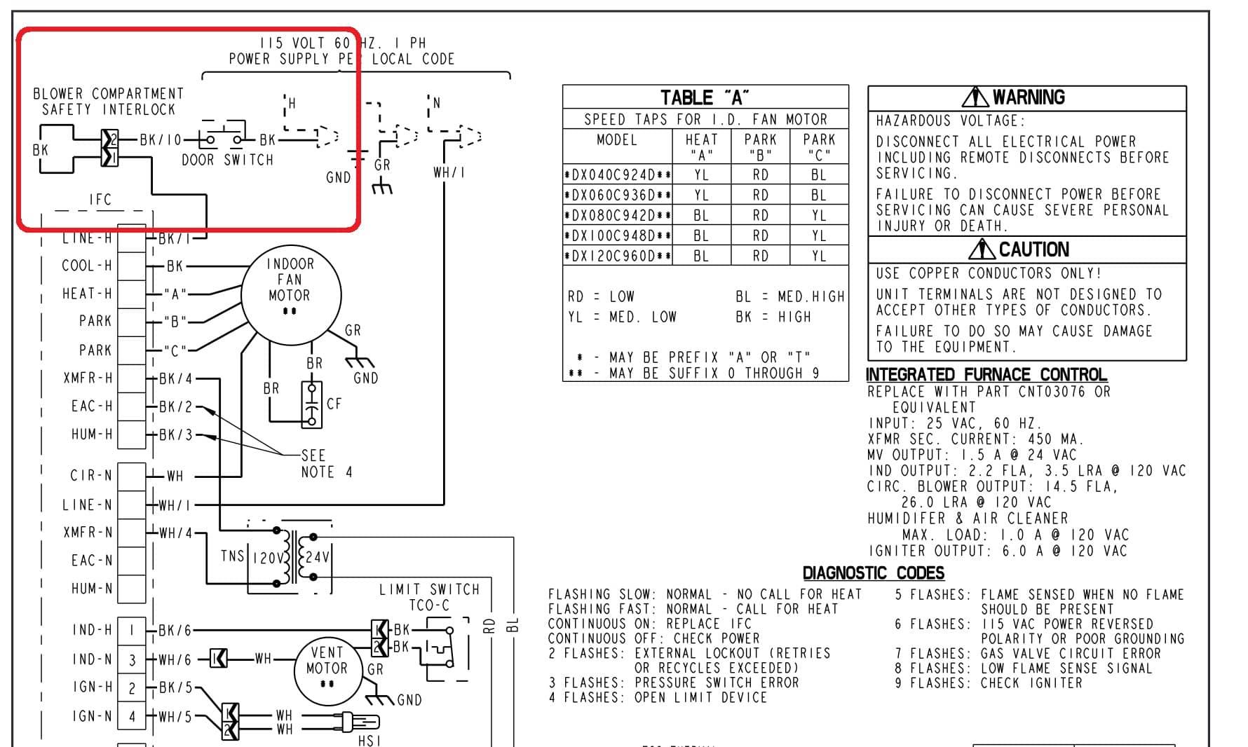 Trane Ycd Wiring Diagrams Schematics