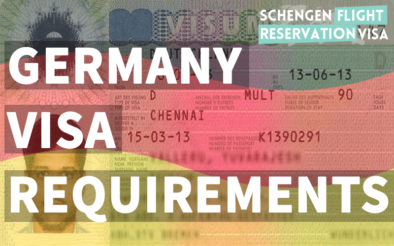 Germany Visa Requirements