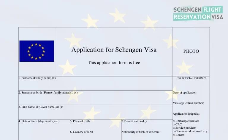 Schengen Visa Requirements & How To Apply Schengen Visa