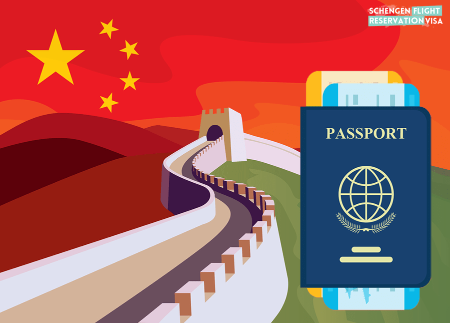 Schengen Visa for Chinese Passport Holders and Citizens