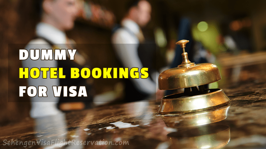 How to Get Dummy Hotel Bookings for Visa Applications
