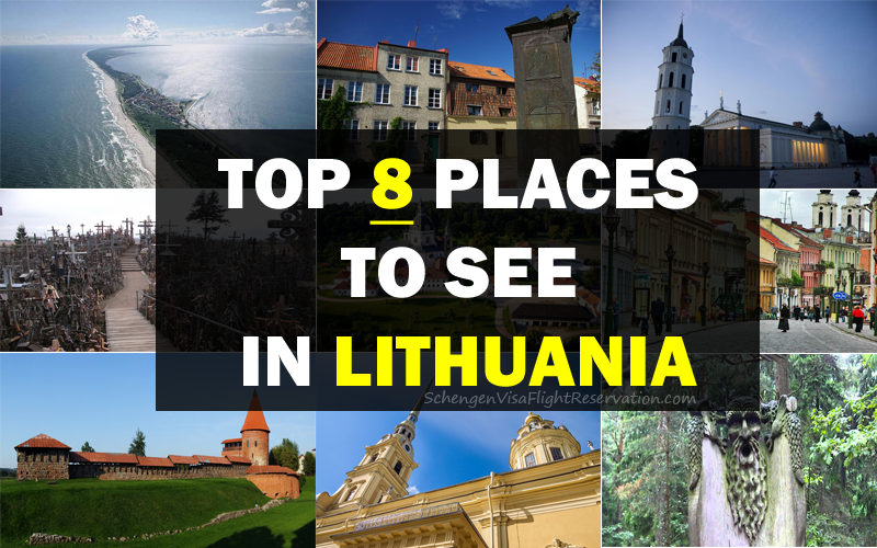 Top 8 Places to See in Lithuania