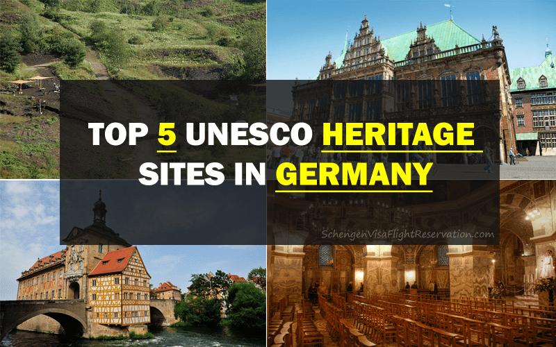 Top 5 UNESCO Heritage Sites in Germany