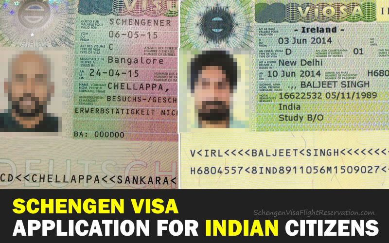 Schengen Visa Application for Indian Citizens