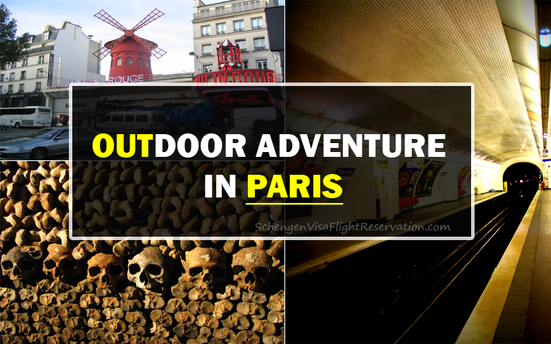 An Outdoor Adventure in Paris, France